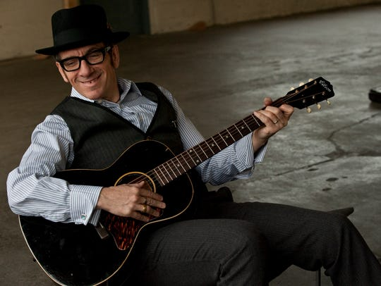 Elvis Costello will perfrom June 10 at the Murat Theatre