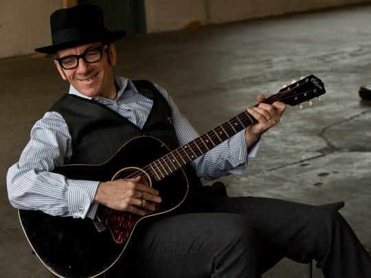 Elvis Costello will perfrom June 10 at the Murat Theatre