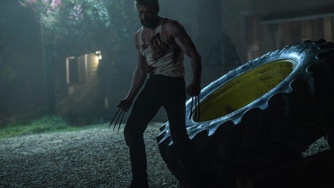 "Hugh Jackman as Logan/Wolverine in ""Logan."""