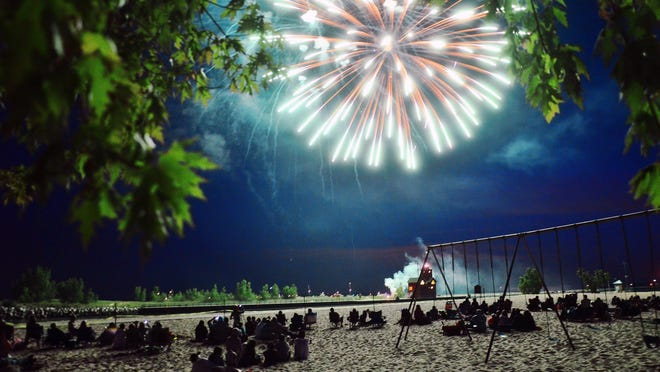 The Holland Harbor Lighthouse Historical Commission and the David and Carol Van Andel Family Foundation fireworks show for Fourth of July is still on, but you won't be able to watch from Holland State Park, which is closing at 10 p.m. Saturday.