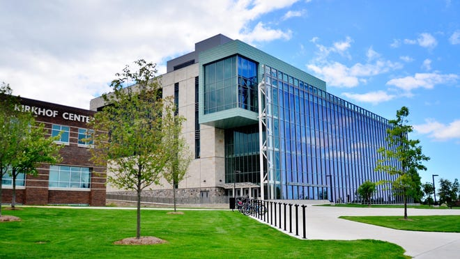"""The Ottawa County Health Department issues a """"Staying in Place"""" order to students living on or near Grand Valley State University's Allendale campus Wednesday."""