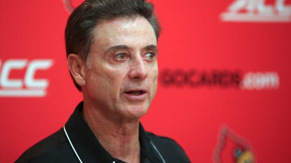 Rick Pitino answered questions from the media about the upcoming season, players and even Valhalla on July 9, 2014.