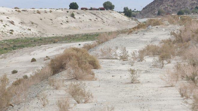 The CV Link bike and pedestrian path will follow the wash in La Quinta near the Miles Ave Bridge.