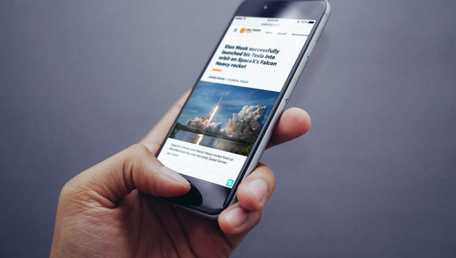 Using the online media software platform Scroll. mobile and desktop subscribers get news sites in an ad-free way.