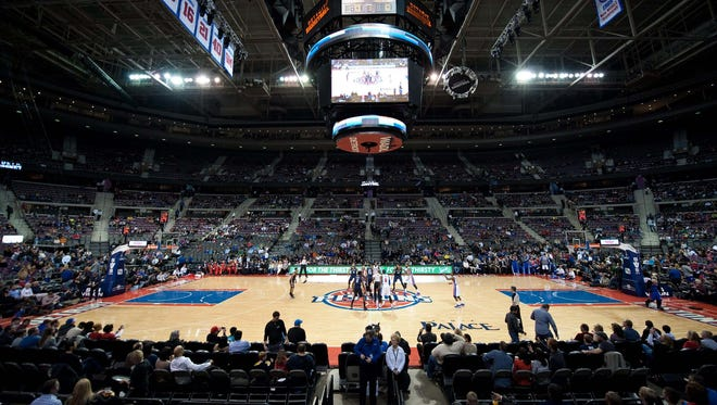 The Palace of Auburn Hills in January 2014.