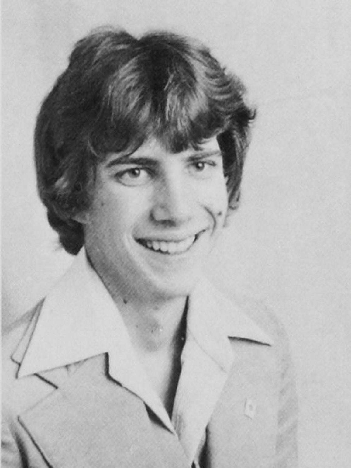 Gordon Ray Church in his 1978 Cedar High School yearbook