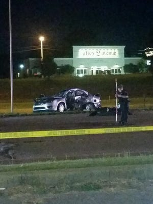 Jay and Julie Hogan were killed in a car two-car crash about 9 p.m. Thursday near the Hollywood movie theater.