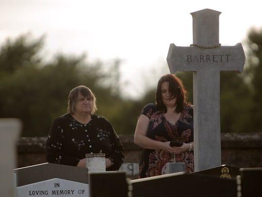 """A scene from """"Irish Justice."""""""