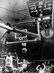 Jerome Whitehead sank the game-winner for Marquette in a 1977 national semifinal game vs. UNC-Charlotte.