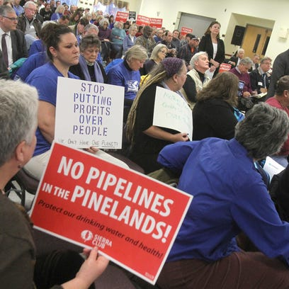 Pinelands pipeline up for approval Friday