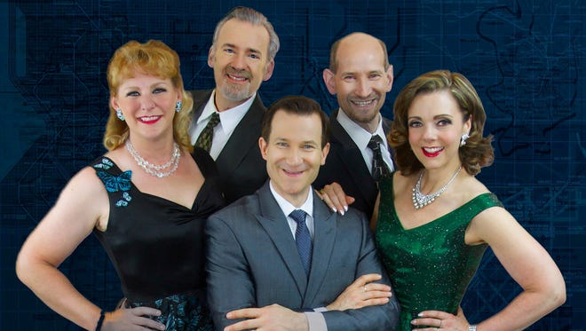 The vocal quintet, Five By Design, will perform with the Manitowoc Symphony Orchestra on Oct. 15.