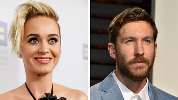 Calvin and Katy, together at last.