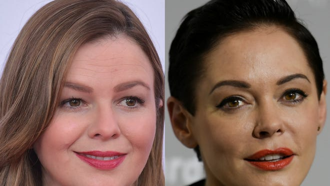 Amber Tamblyn and Rose McGowan.