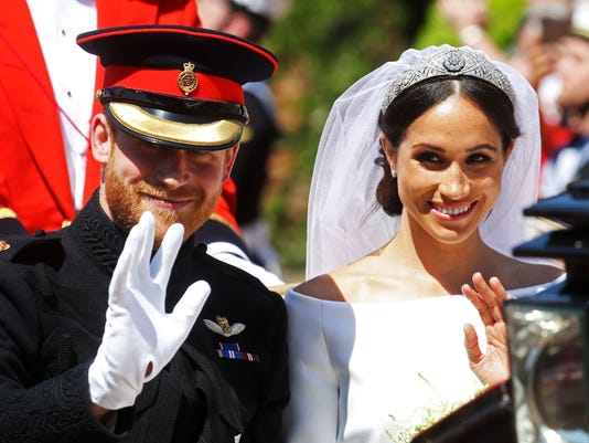 Here are Prince Harry and Meghan Markle's new royal titles, and why she's not a princess