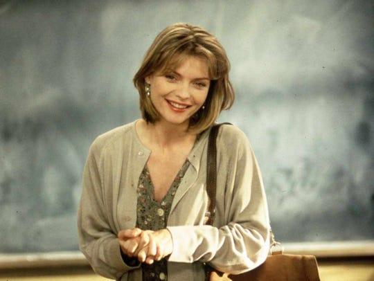 "Michelle Pfeiffer stars in ""Dangerous Minds."""