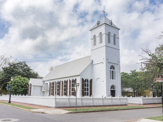 Old Christ Church is located in the Historic Pensacola Village.