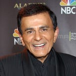 Casey Kasem after receiving the Radio Icon award during The 2003 Radio Music Awards.