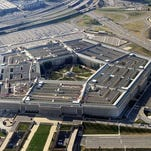 This file photo taken Dec. 26, 2011 shows the Pentagon building in Washington, DC.