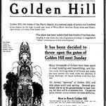 Wasgo, a 30-foot-tall Alaskan Haida totem pole, stood watch over the Golden Hill neighborhood from 1905 to 1939.