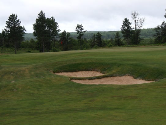 The fourth hole on the Red course on The Loop in Roscommon.