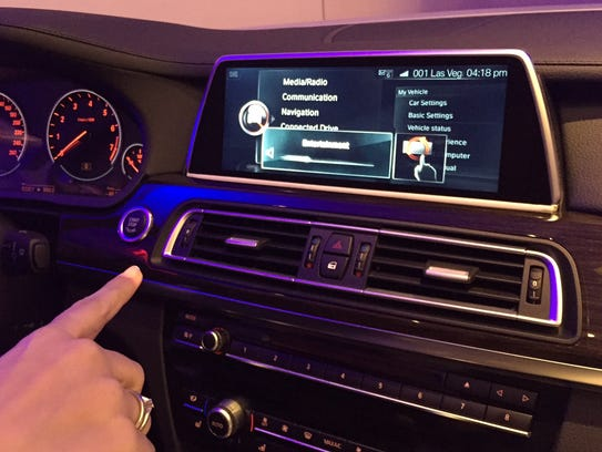 BMW unveiled a new gesture control feature at CES Monday,