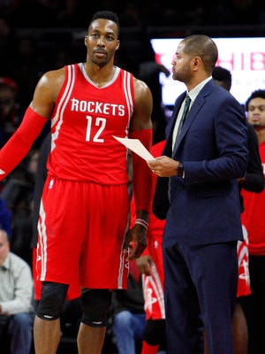 Dwight Howard is unhappy with how the Rockets have played, but so is coach J.B. Bickerstaff and the rest of the team.
