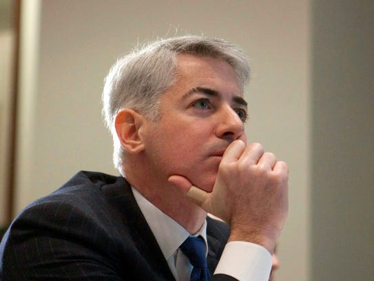 File photo taken in 2012 shows Bill Ackman, manager