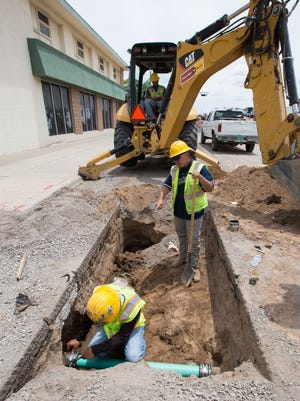 Development impact fees allow the City of Las Cruces to expand capacity in its utilities system to meet the growing water and wastewater demands as the city grows.
