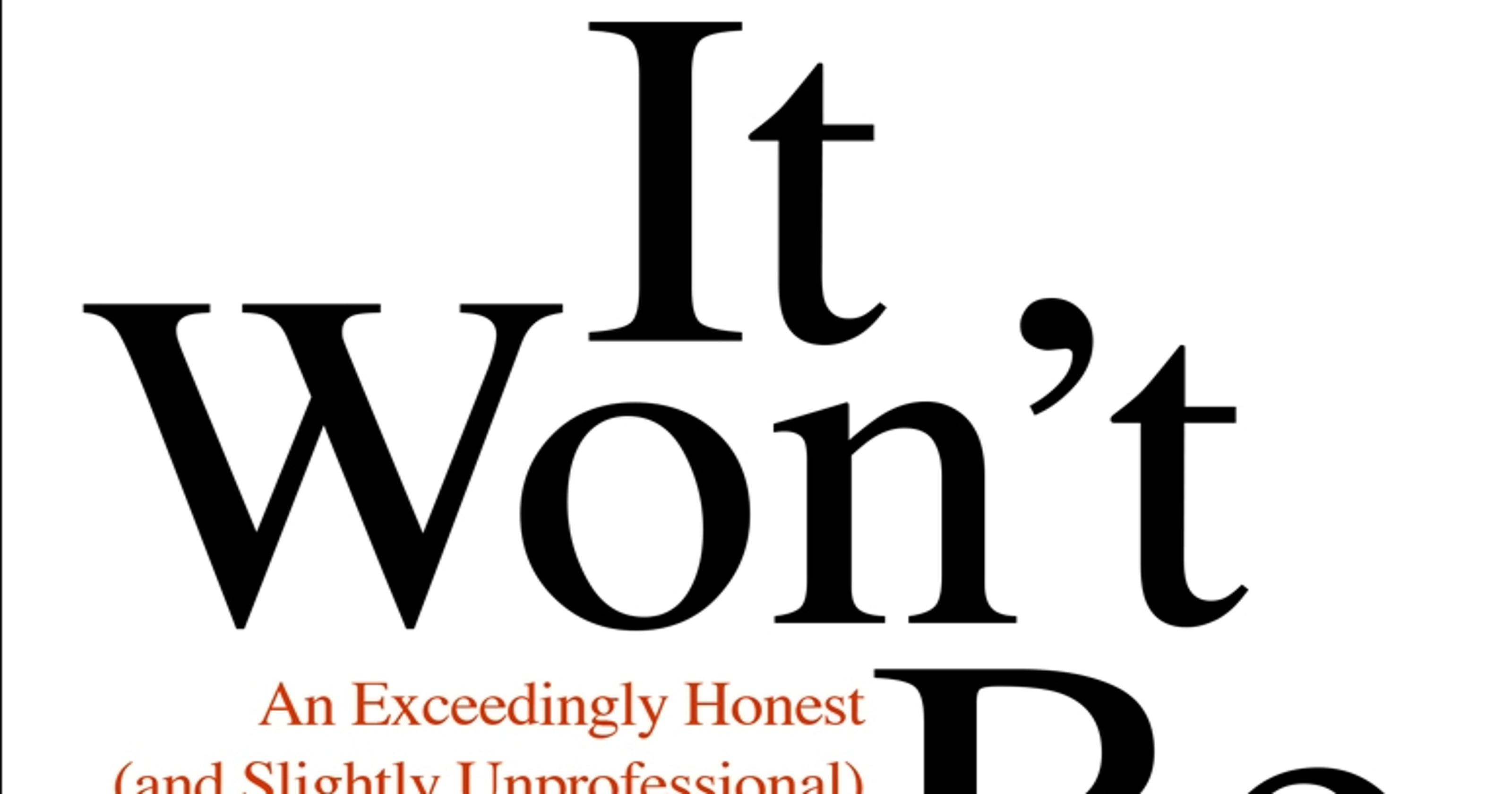 Book review: 'It Won't Be Easy' by Tom Rademacher
