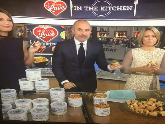 Blue Crab Bay Co. on NBC Today Show