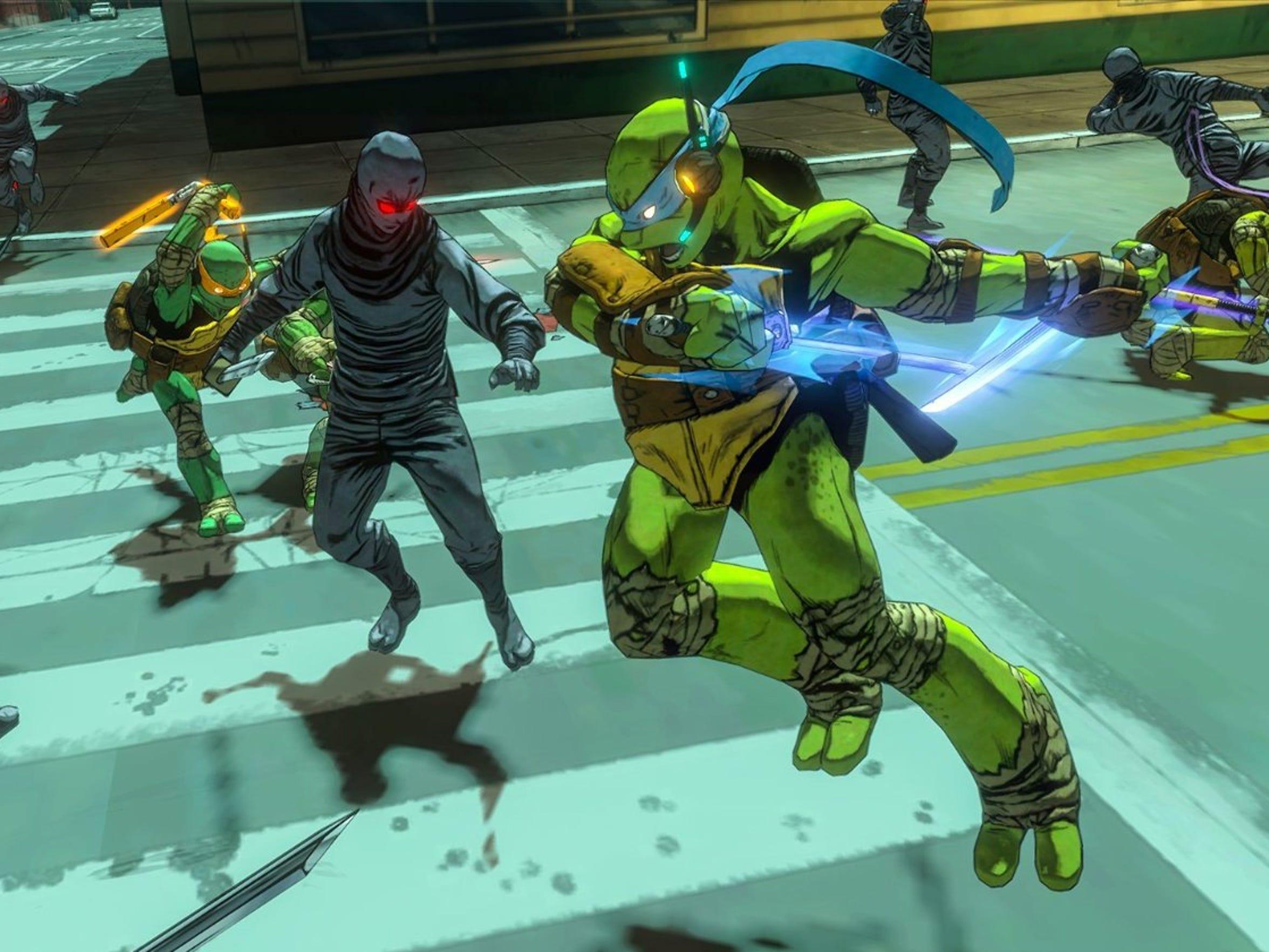 """Fight the Foot Clan in """"Teenage Mutant Ninja Turtles:"""