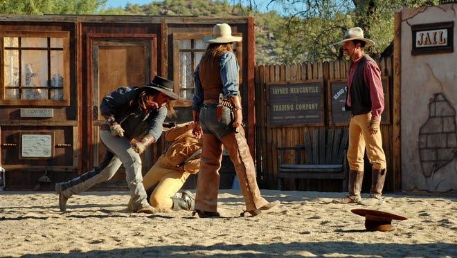 Guns of Anarchy is a gunfight performer competition that will include contestants from all over the country. It takes place in a space developed to look like an authentic western town.
