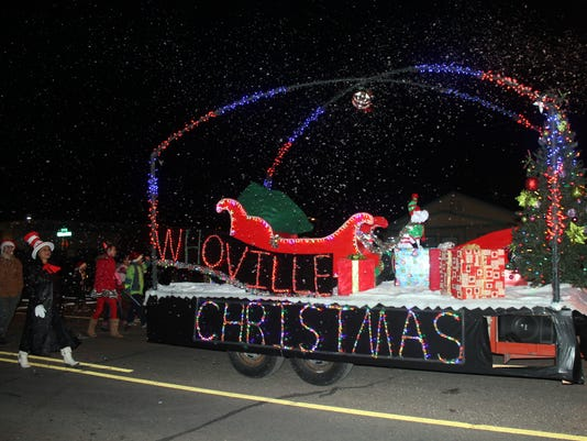 Christmas Parade of Lights 2015 Alamogordo
