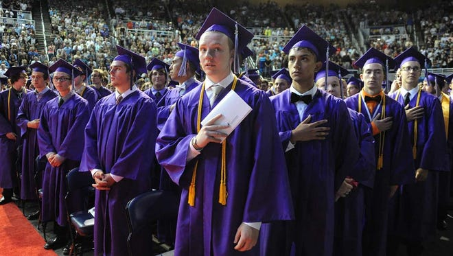 Images from the Spanish Spring High School Graduation at Lawlor Events Center on June 16, 2015.