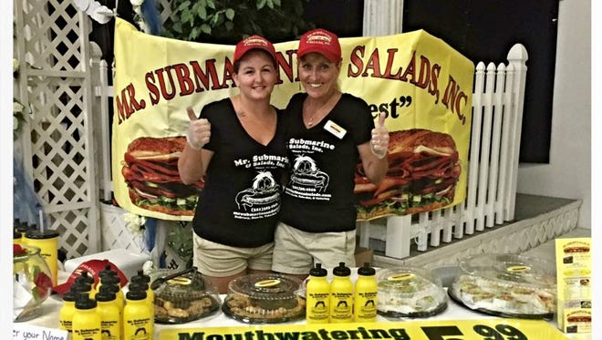 Mr. Submarine in Titusville will celebrate its 30th anniversary this spring. Pictured are  Britney Black and owner Donna Trantham.