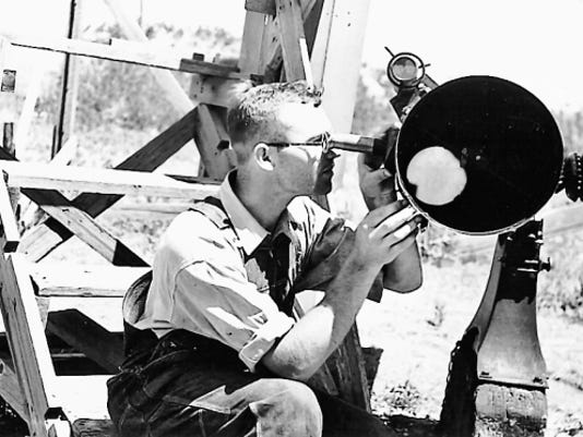"""A summer of special events at city museums honoring the life and work of Pluto's discoverer, Clyde Tombaugh, begins with """"Beyond Pluto,"""" opening with a reception at the Branigan Cultural Center during the Downtown Ramble from 5 to 7 p.m. today."""