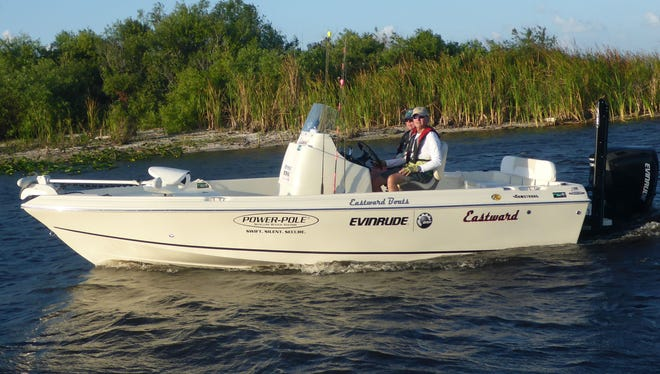David East, builder of Eastward Boats in Port St. Lucie, is about to embark on a 500-mile boating and fishing adventure around the South Florida peninsula.