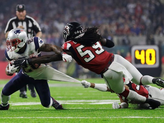 De'Vondre Campbell, a graduate of Cypress Lake High School in Fort Myers, is entering his fourth season as a linebacker with the Atlanta Falcons. Following the 2017 season Campbell played with the Falcons in Super Bowl LI. He had three tackles in a 34-28 overtime loss.