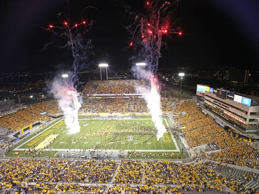 Arizona State University takes the field against Northern