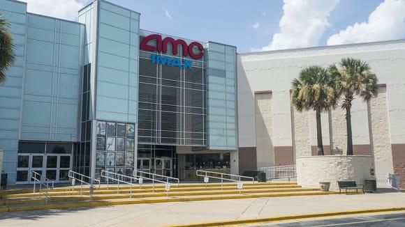 An AMC movie theater anchors Festival Plaza at Vaughn