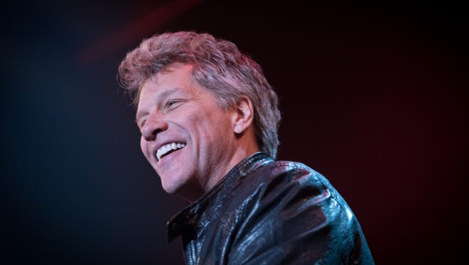 Jon Bon Jovi at the Bobby Bandiera Hope Concert at the Count Basie Theater in Red Bank in December.
