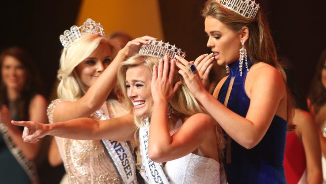 Miss Williamson County, Allee-Sutton Hethcoat, was named Miss Tennessee USA 2017 on Saturday night. The competition was held at Austin Peay State University.