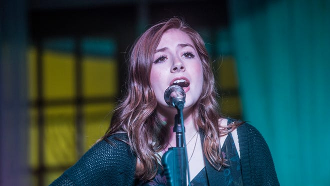 Abigail Douglas performs Saturday at Goat Haus Biergarten for the first live presentation by Foreword South.