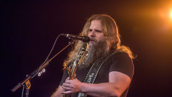 Country singer and songwriter Jamey Johnson of Montgomery.