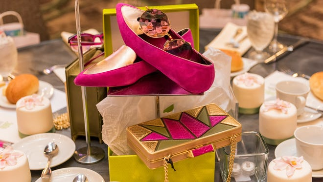 Centerpiece created by Lord & Taylor at last year's 'In The Pink Fashion Show.'