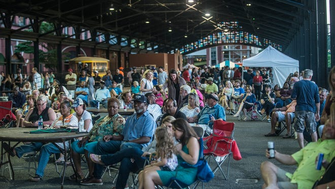 The River Region Musicians' Showcase and Benefit has moved to the Union Station Train Shed.