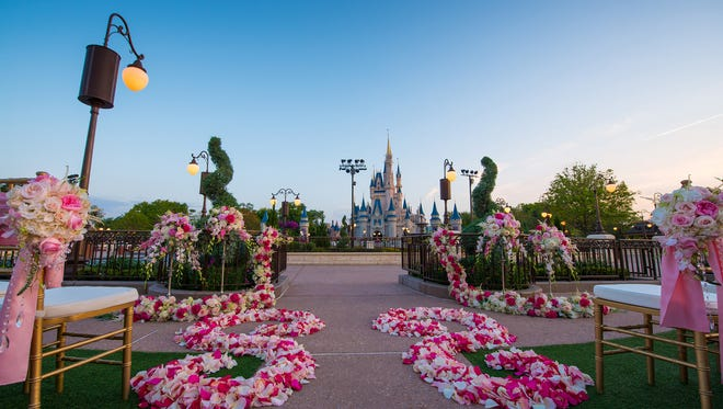 More than 50,000 couples have been married at Walt Disney World.