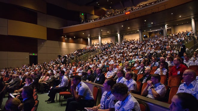 The 2017 Air Force Information Technology and Cyberpower Conference drew nearly 5,000 attendees from across the Department of Defense and civilian industry.