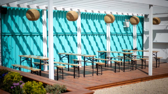 The Springs in Brooklyn, New York is a new bar opened by Anthony Serignese and inspired by his travels to Palm Springs.