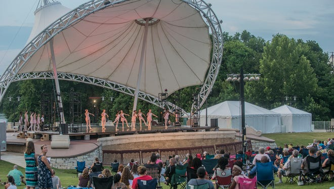 Alabama Dance Theatre returns to Riverwalk Amphitheater on Sunday and Monday for Stars on the Riverfront.
